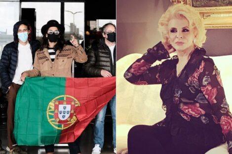 Eurovisão, Portugal, The Black Mamba, Lili Caneças
