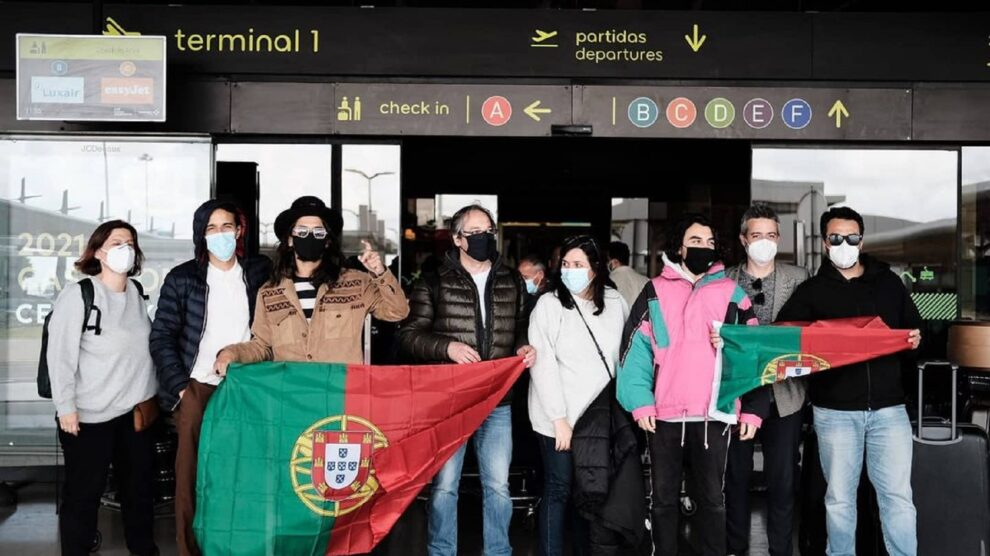 Eurovisão, The Black Mamba, Love Is On My Side, Portugal