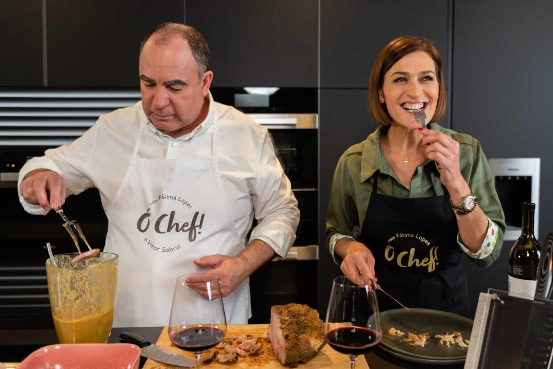 Fatima Lopes Chef Vitor Sobral