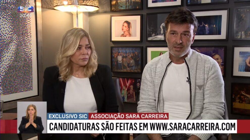 Fernanda Antunes, Tony Carreira, Sara Carreira