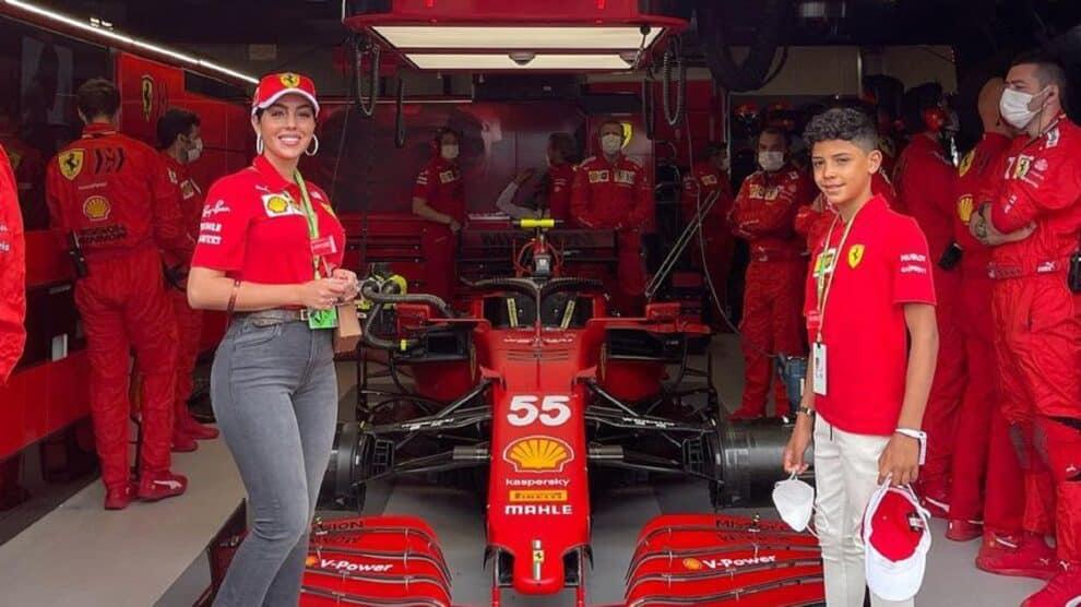 Georgina Rodriguez E Cristianinho