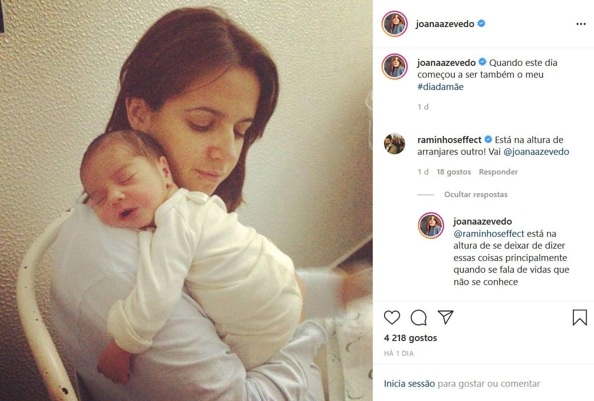 Joana Azevedo, António Raminhos, Instagram