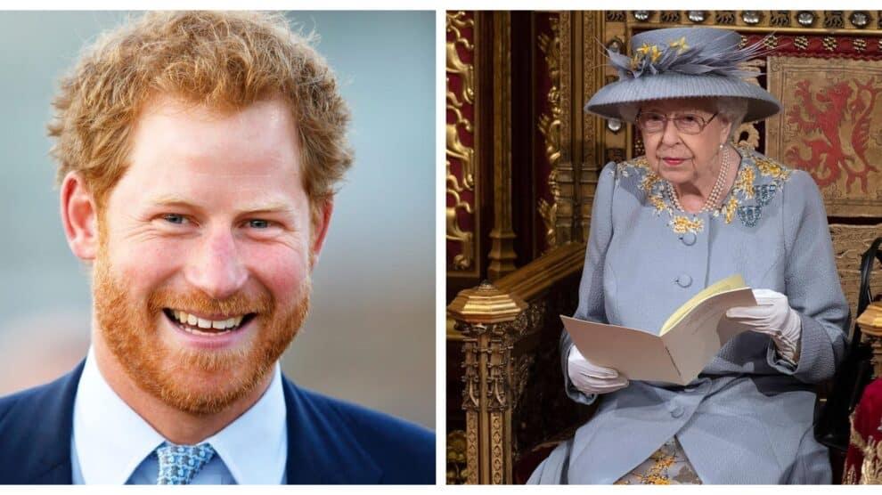 Principe Harry Rainha Isabel Ii