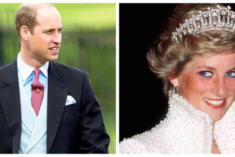 Príncipe William Princesa Diana