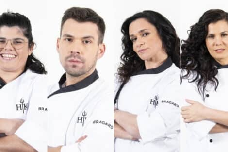 Francisca, Lucas, Rute, Cândida, Hell'S Kitchen