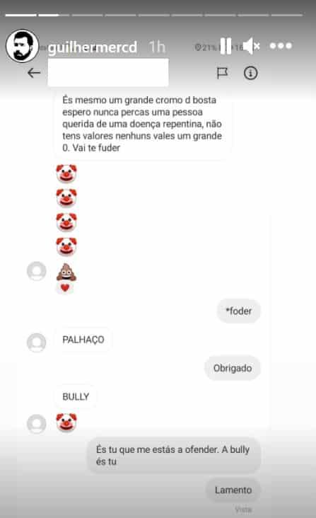 Guilherme Duarte, Instagram