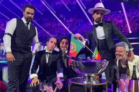 Eurovisão, Portugal, The Black Mamba, Love Is On My Side