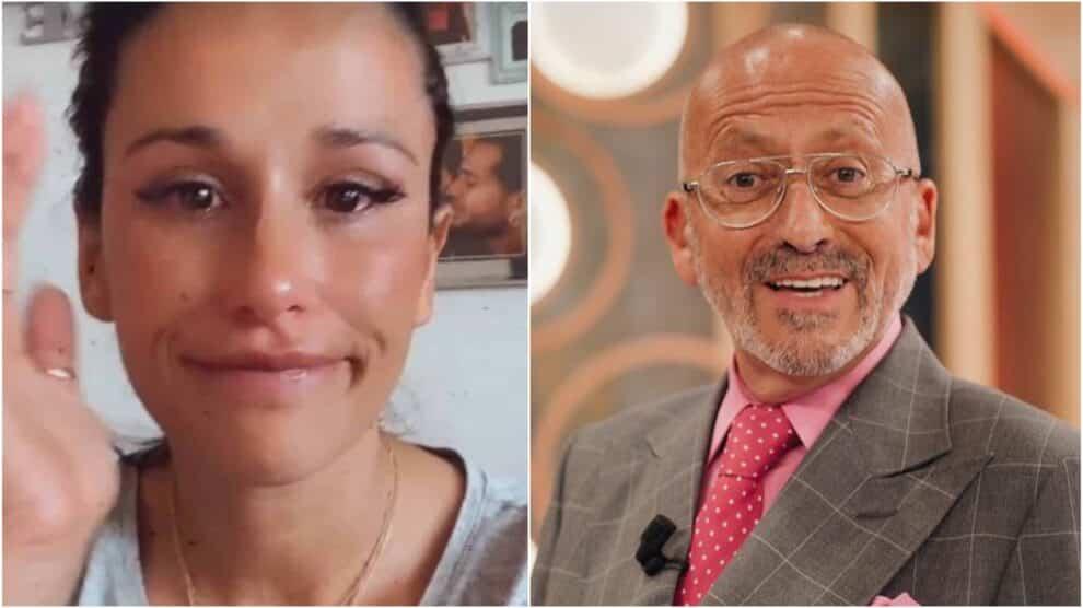 Rita Pereira, Chora, Manuel Luís Goucha