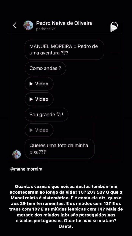 Rui Maria Pêgo, Instagram