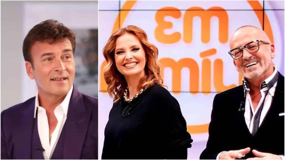 Tony Carreira, Cristina Ferreira, Manuel Luís Goucha