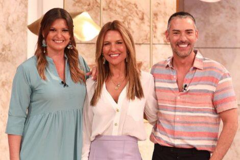 Ana Rita Clara, Maria Botelho Moniz, Cláudio Ramos, Dois Às 10