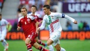 Christian Eriksen Cristiano Ronaldo