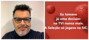 Comentador Sic Jogo Portugal