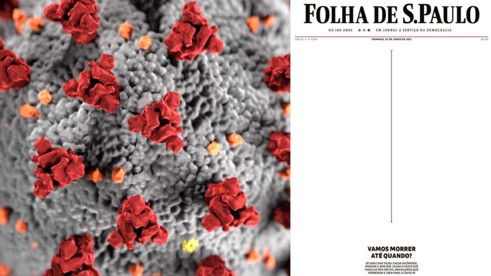 Covid-19, Brasil, Folha De S. Paulo