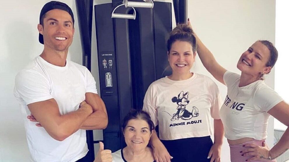 Cristiano Ronaldo, Dolores Aveiro, Elma Aveiro, Katia Aveiro