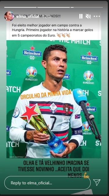 Elma Aveiro Cristiano Ronaldo