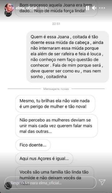 Elma Aveiro, Joana D'Albuquerque