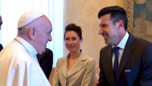 Luís Figo, Papa Francisco