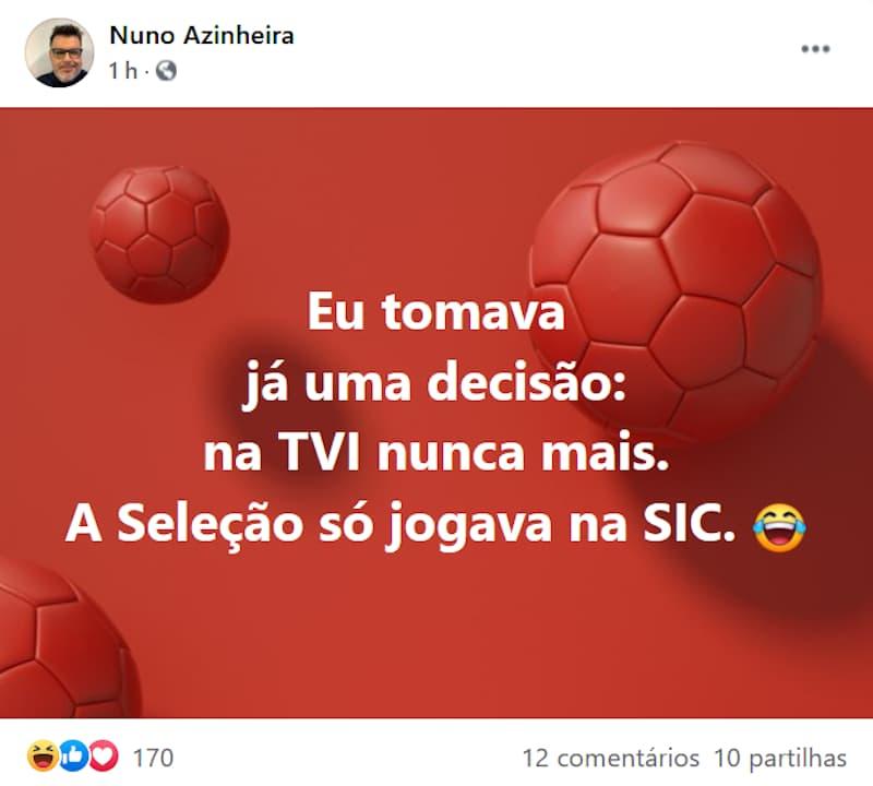 Nuno-Azinheira-Piada-Comentador-Sic-Portugal