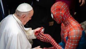 Papa Francisco, Homem-Aranha, Vaticano