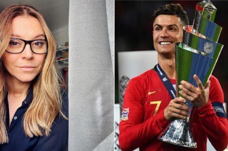 Rita Marrafa De Carvalho, Cristiano Ronaldo