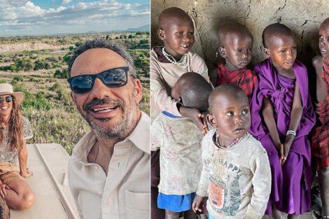 Rita Rugeroni, Pedro Ribeiro, Massai, Tanzânia