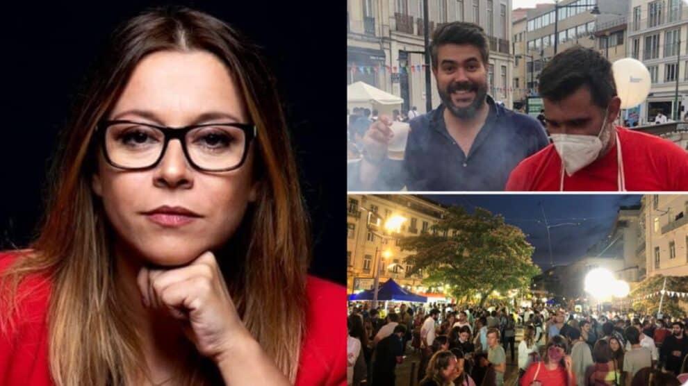 Rita Marrafa De Carvalho, Critica Arraial Iniciativa Liberal