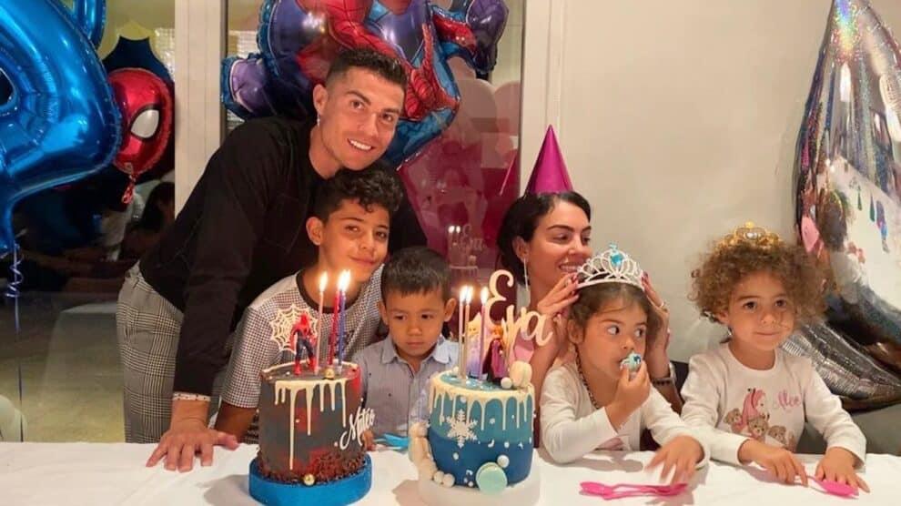 Cristiano Ronaldo, Filhos Gémeos Festa Aniversário