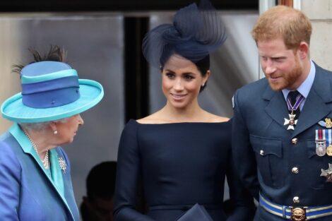 Rainha Isabel Ii, Principe Harry, Meghan Markle, Família Real