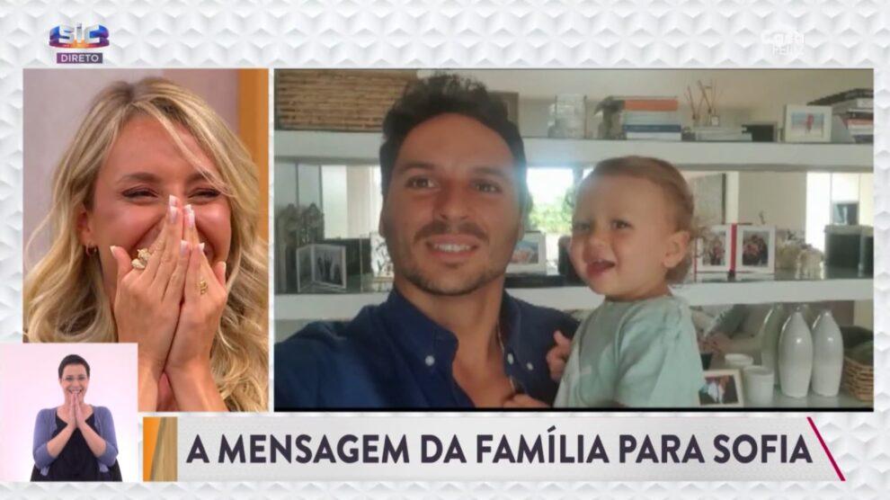 Sofia Arruda, Aniversario Marido, Filho