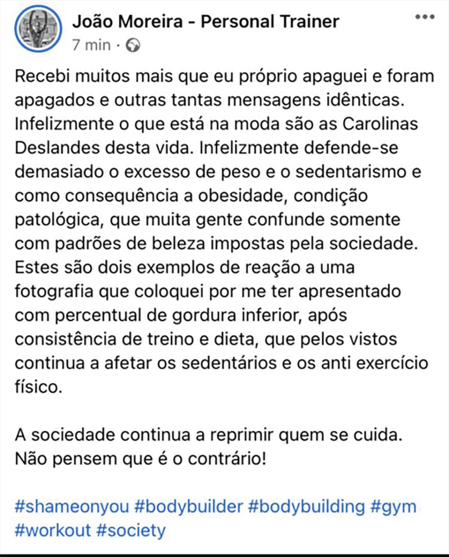 João Moreira, Críticas