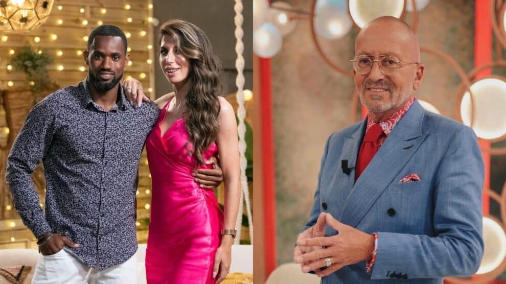 O Amor Acontece, Abel, Isabel, Manuel Luís Goucha