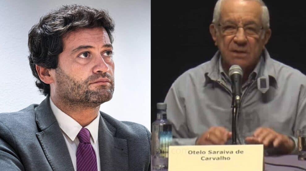 André Ventura, Otelo Saraiva De Carvalho
