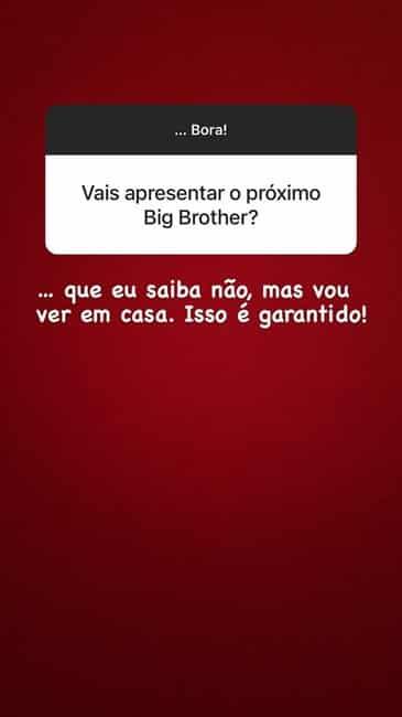Cláudio Ramos, Apresentador, Big Brother