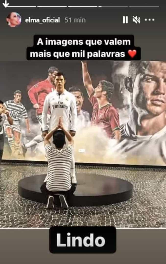 Fã, Cristiano Ronaldo, Elma Aveiro