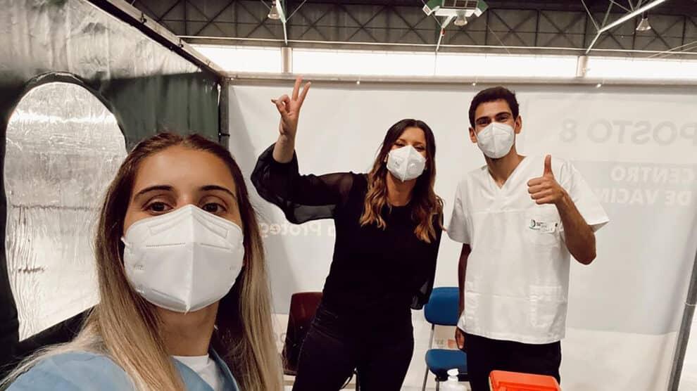 Maria Botelho Moniz Vacinada