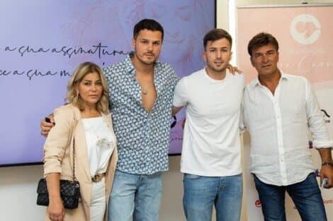 Tony Carreira, Fernanda Antunes, Mickael, David