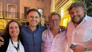 César Mourão, Herman José, Maria Rueff, Rui Unas