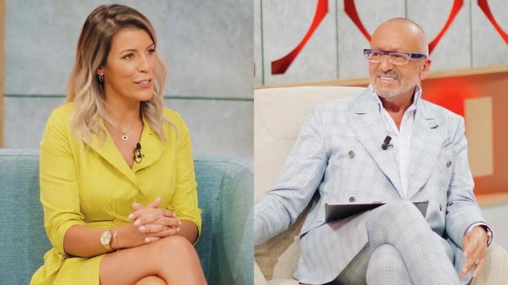 O Amor Acontece, Ana Filipa, Manuel Luís Goucha