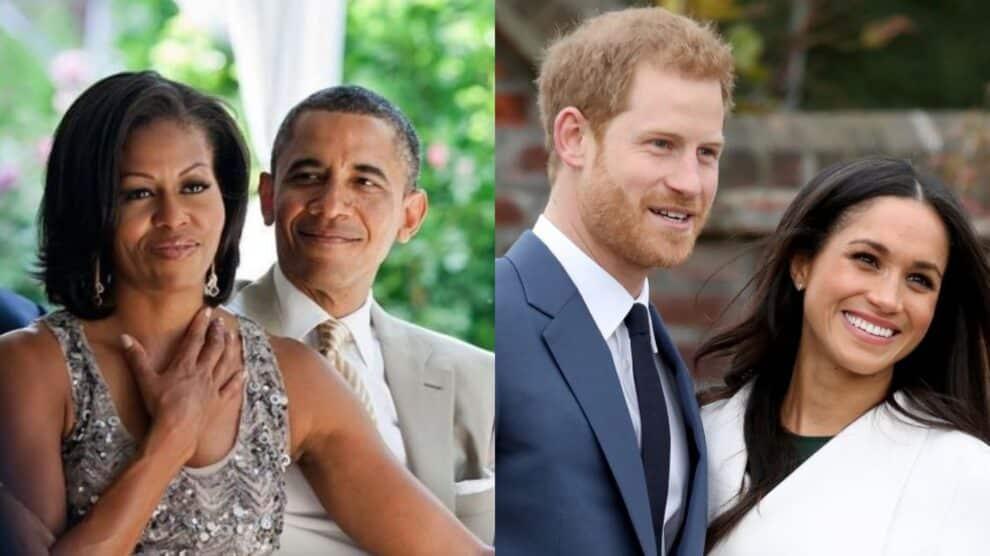 Barack E Michelle Obama, Príncipe Harry E Meghan Markle