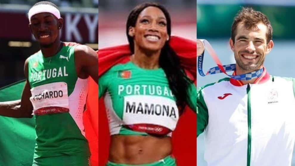 Jogos Olimpicos, Toquio Medalhas Portugal