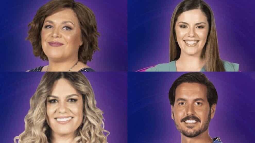 Big Brother, Maria Conceição, Aurora, Ana Barbosa, António