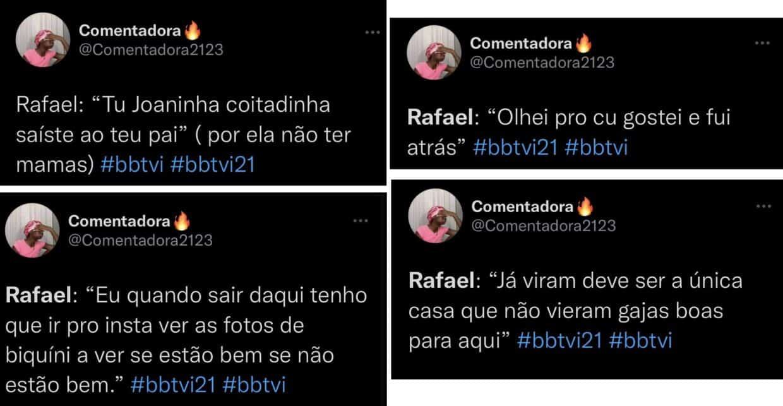 Big Brother, Rafael, Twitter