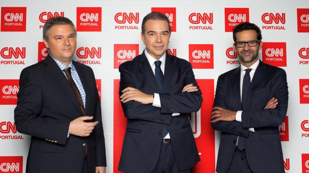 Frederico Roque Pinho, Nuno Santos, Pedro Santos Guerreiro, Cnn Portugal