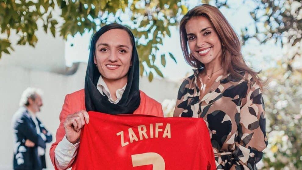 Zarifa Ghafari, Catarina Furtado