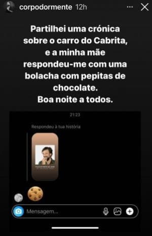 Bruno-Nogueira-Instastory-Mensagens-Mae