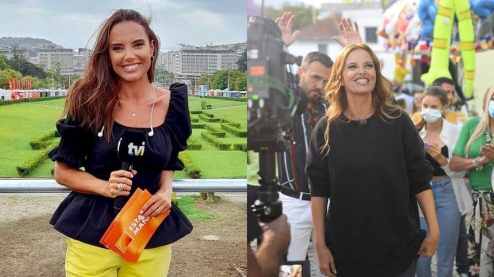 Iva Domingues, Cristina Ferreira