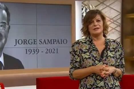 Júlia Pinheiro Recorda Jorge Sampaio