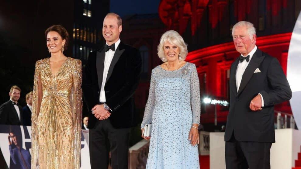 Princípe William, Kate, Princípe Carlos, Camilla