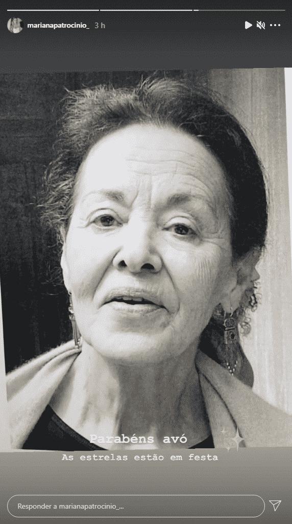 Mariana Patrocínio, Ana Maria